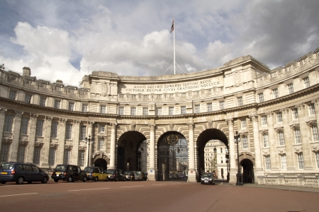 Admiralty arch in London  Stock Photo - 17298235