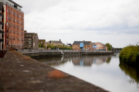 Gainsborough,Lincolnshire riverside buildings modernised to create workplaces and townhouses