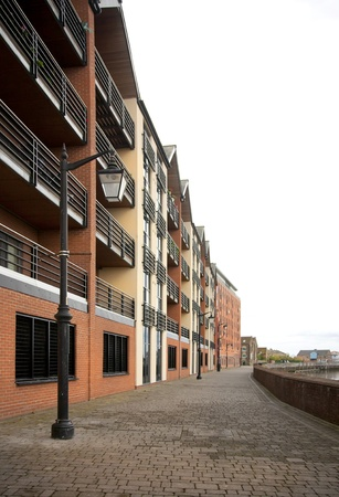 townhouses: Gainsborough,Lincolnshire riverside buildings modernised to create workplaces and townhouses
