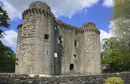 somerset: Nunney castle, Somerset UK Editorial