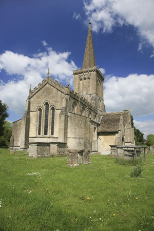 Bishops Cannings church,Wiltshire UK Stock Photo