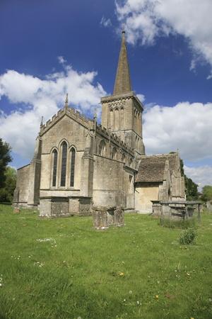 Bishops Cannings iglesia, Wiltshire Reino Unido