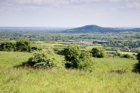 Somerset landscape Stock Photo - 20675309