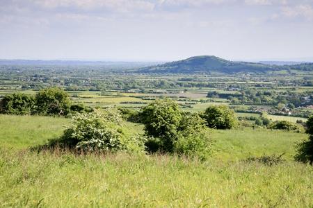 Somerset landscape Stock Photo - 20675309