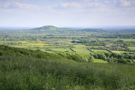 Somerset landscape Stock Photo - 20675310