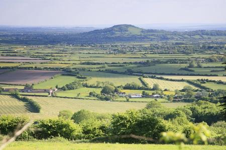 Somerset landscape Stock Photo - 20675315