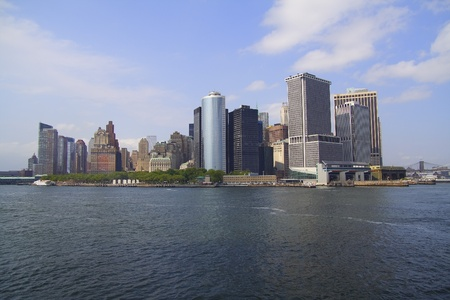 staten: Manhattan New York view from the ferry