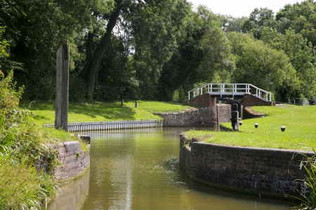 Grand Union canal Stock Photo