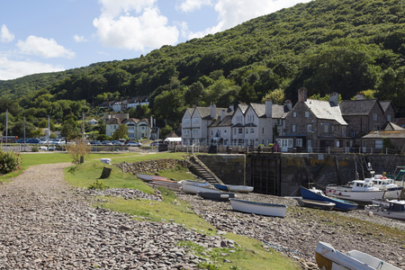 Porlock weir is a small harbour in the county of Somerset on the south western coast of the UK