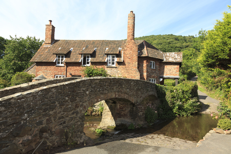 "old packhorse bridge: Allerford is a village in the county of Somerset, England, located within Exmoor National Park, and is part of the parish of Selworthy in the district of West Somerset. It appears in Domesday Book as ""Alresford – forda Ralph de Limesy Mill"