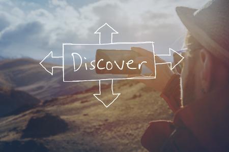 ifestyle: Travel explore discover concept