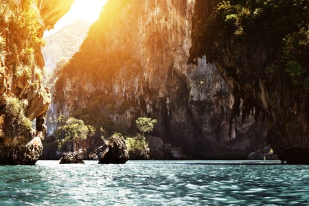 aonang: Beautiful Thai landscape of tropical islands