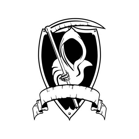 Angel of Death Cartoon Hallowen