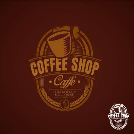coffe shop vintage old brown