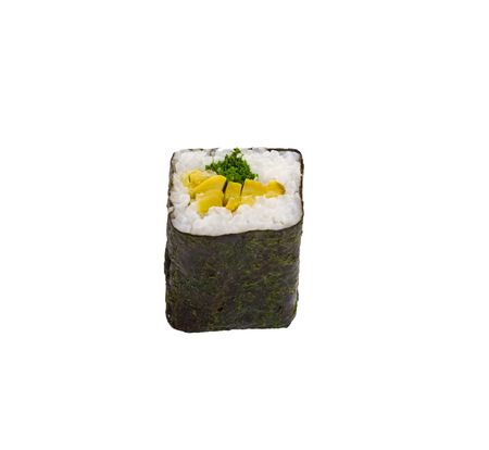 sushi isolated object on a white background Фото со стока