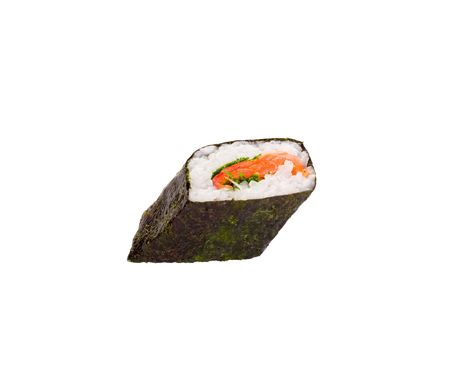 isolated object of sushi on a white background Фото со стока