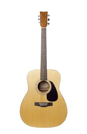 Akustische Gitarre Standard-Bild - 6666752