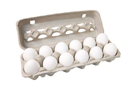 Carton of eggs Stock Photo - 6921035