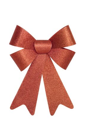 Shiny Red Christmas Bow