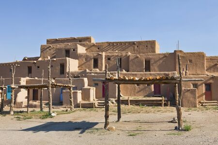 Taos Pueblo, aka Pueblo de Taos, Taos, New Mexico