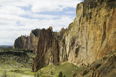 crag: Smith Rocks, nature stock photography Editorial