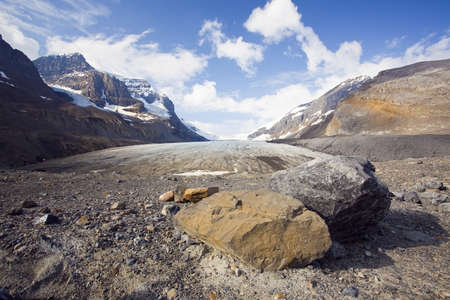 icefield: Athabasca Glacier, Columbia Icefield, Banff National Park