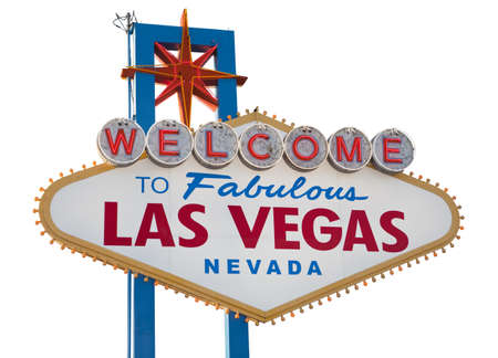 Welcome to Fabulous Las Vegas Sign, includes clipping path Stock Photo - 11652435