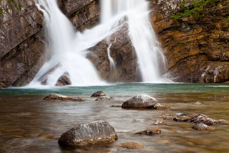 alberta: Cameron Falls in Waterton Lakes National Park, Alberta, Canada