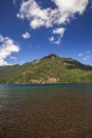 Lake Crescent in Olympic National Park, Washington Stock Photo