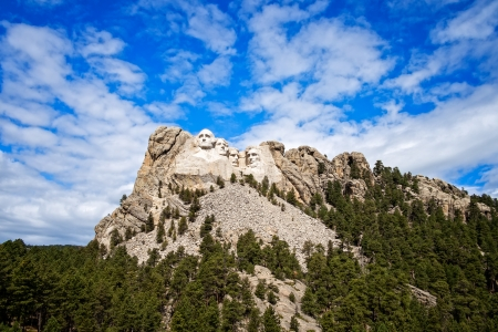 abe: National Memorial, Mount Rushmore, South Dakota