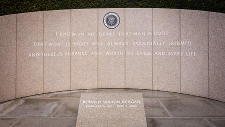 ronald reagan: President Reagans Final Resting Place at the Ronald Reagan Presidential Library