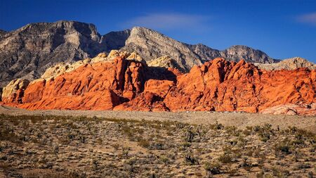 rock canyon: The Red Rock Canyon National Conservation Area near Las Vegas, Nevada