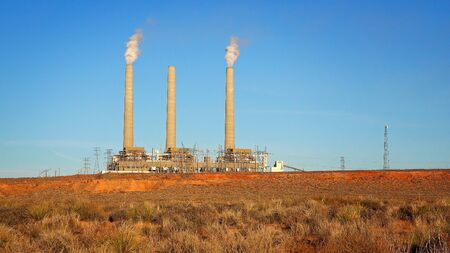 generating station: Navajo Generating Station in Page, Arizona is a coal-fired powerplant located on the Navajo Indian Reservation