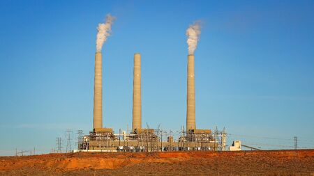 navajo: Navajo Power Station in Page, Arizona is a coal-fired powerplant located on the Navajo Indian Reservation
