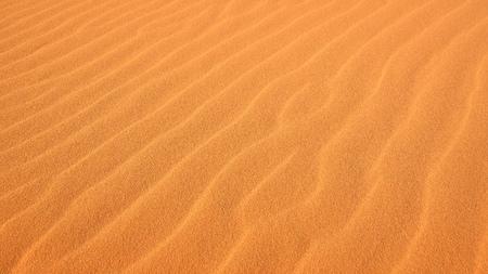 Close-up d'ondulations dans le sable à Coral Pink Sand Dunes State Park à Kanab, Utah Banque d'images