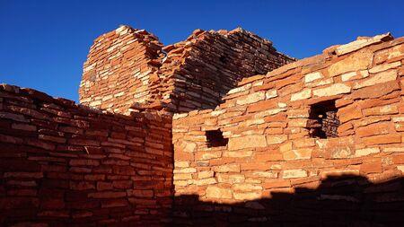 hopi: Native american ruins at Wupatki National Monument