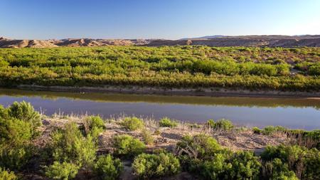 grande: Rio Grande River flows through Big Bend National Park