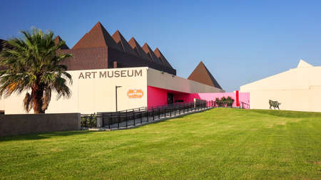 Art Museum of South Texas in Corpus Christi, Texas, pan