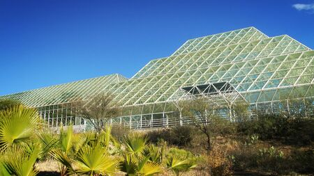 Exterior of the science campus, Biosphere 2