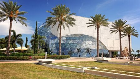 ST PETERSBURG, FLORIDA - MAY 29th: Exterior of the Salvador Dali Museum in St Petersburg, Florida on May 29th, 2016.