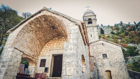 Medieval catholic church of Our Lady of Health in Kotor, Montenegro