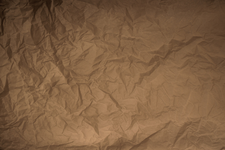 old crumpled plain wrapping paper texture back