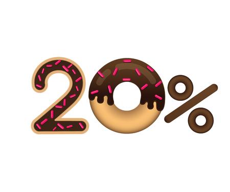 Sale 20 percent icon