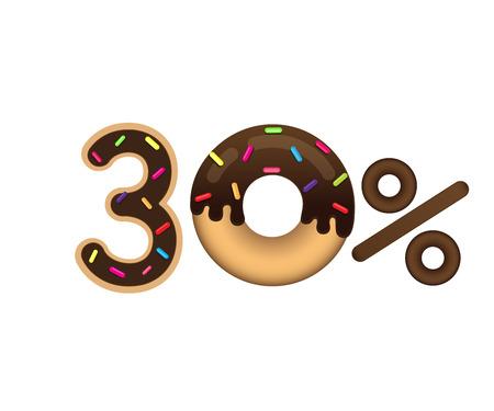 Sale 30 percent icon