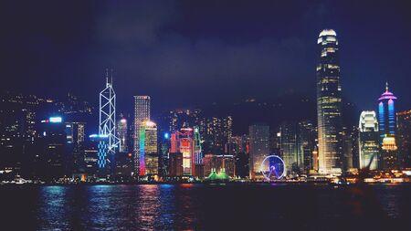 skylines: Hong Kong Skylines