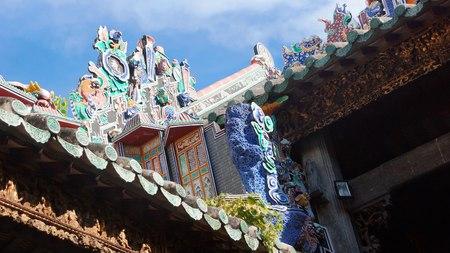 The ancestral hall of Pinang Peranakan Mansion Editorial