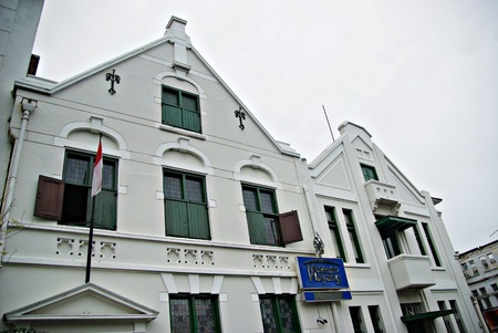 Old part of Jakarta, once was called as Kota Tua