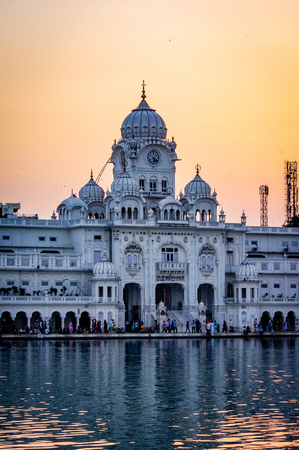 amritsar temple india golden gate. Very much one of the main tourist attractions and points of interest in the area.