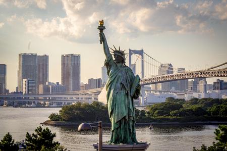 Tokyo Skyline Cityscape Scene japan Фото со стока