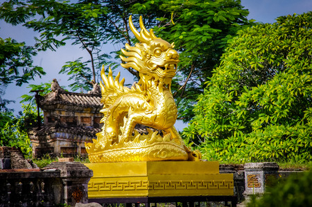 Hue Imperial Citadel Vietnam South East Asia. Very much one of the main tourist attractions and points of interest in the area.